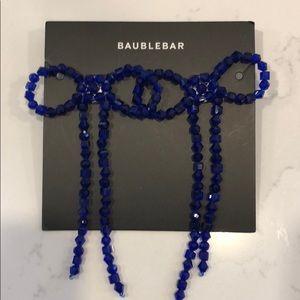 BaubleBar cute bow earrings NEW
